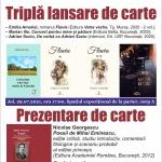 Regal de lansări și prezentări de carte, la Biblioteca Județeană