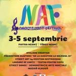 NEAMŢ ART FESTIVAL,  SPAŢIU DESCHIS CULTURII Ediţa a II-a, 3-5 septembrie 2021