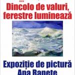 Expoziție de pictură Ana Ranete, la Biblioteca Județeană