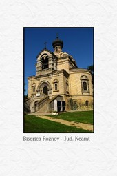 Biserica din Roznov - Judetul Neamt