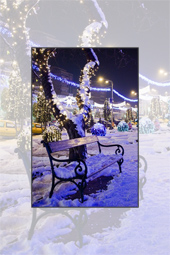 Piatra Neamt in luna sarbatorilor de iarna - 2010