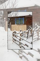 Satul Barnadu in iarna - ianuarie 2013