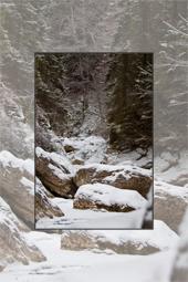 Traseu in Cheile Bicazului - Cheile Bicajelului - Drumul Surducului iarna