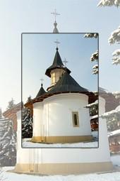 Iarna la Manastirea Sihastria