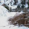 Cheile Bicajelului iarna