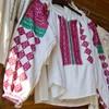 Camasa populara traditionala in atelierul mesterului Ionela Lungu