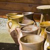 Vase de lut in atelierul mesterului Ionela Lungu