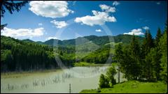 Drumetie la lacul Cuejdel