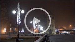 Lumini de decembrie in Piatra Neamt 2013