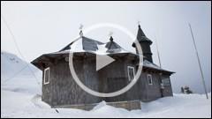 Manastirea de pe muntele Ceahlau