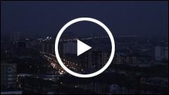 Orasul Piatra Neamt vazut de la inaltime