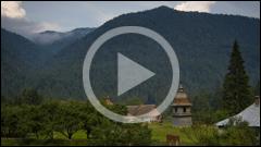 Manastirea Tarcau video